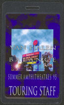 "#MUSIC539 - 1995 Van Halen Backstage Pass from the ""Balance"" tour - Summer Amphitheatres"
