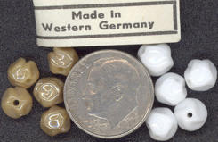 #BEADS0176 - Round West German Pinch Beads - Pick Your Color
