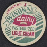 #DC098 - Beautiful Winona Dairy Milk Bottle Cap