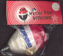 #TY404 - Wooden Top in Original Package