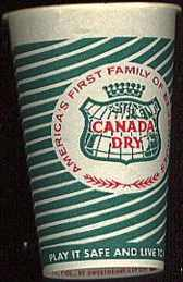 #SOC002 - Canada Dry Sample Soda Cup