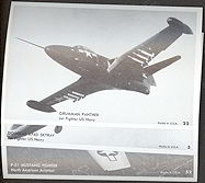 #ZZA126 - Vintage Group of 5 Different Aviation Postcards