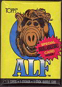#ZZA037 - 1987 Alf Series 1 Wax Pack of Trading Cards