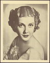 #CH239  - 1930s Anita Louise Publicity Photo