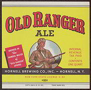 #ZLBE034 - Old Ranger Ale Label IRTP