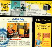 #ZZTO027 - Four Different 1947 - 1961 Appliance Store Brochures