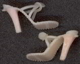 #TY256  - Pair of 1960s Shoes for Barbie