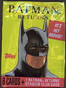 #ZZA044 - 1991 Batman Returns Trading Card Pack
