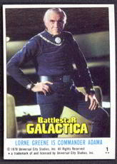 #ZZA130 - Complete Set of 132 Battlestar Galactica cards from 1978