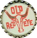 #BC073  - Old Red Eye Cork Lined Soda Cap