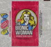 #ZZA004 - 1976 Donruss The Bionic Woman Trading Card Wax Wrapper