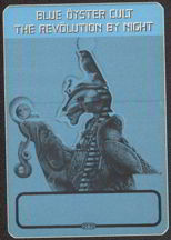 #MUSIC050  - 1983 Blue Oyster Cult Cloth OTTO Backstage Pass from the Revolution by Night Album Tour