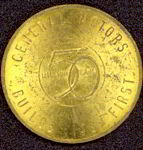 #CA063 - 1954 FIsher Body General Motors Token Medal