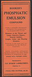#ZBOT080- Twentieth Century Medical Discovery Bottle Label