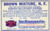 #ZBOT049 - Brown Mixture Opium Label