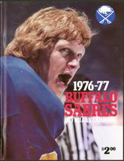 #BA027 - 1976/77 Buffalo Sabres Hockey Team Official Yearbook