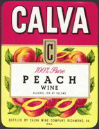 #ZLW083 - Calva Peach Wine Label