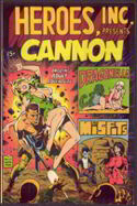#COMIC038  - High Grade 1969 Silver Age Cannon #1 Comic