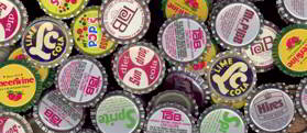 #SOZ047 -  SODA CAPS FINAL CLEARANCE - Group of 200 Assorted
