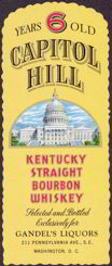 #ZLW076 - Capitol HIll Whiskey Label