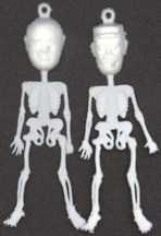 #PL250 - Mikhail Gorbachev and Fidel Castro Skeleton Charms