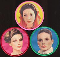 #CH044 - Set of 8 1960s Fashion Model Mirrors