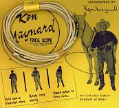 #CH079 - Ken Maynard Trick Rope in Original Cellophane Package
