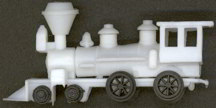 #TY309 - Old Locomotive Toy