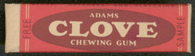 #CS222 - Adams Clove Chewing Gum Free Sample