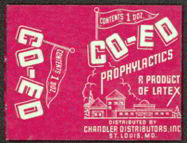 #MS126 - Co-Ed Prophylactic Sleeve