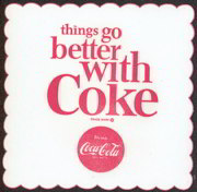 #CC196 - Things Go Better with Coke Coaster