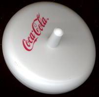 #CC208 - Coca Cola Toy Spinning Top