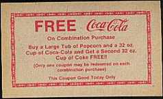 #CC016 - Free Coca Cola Theater Coke Coupon