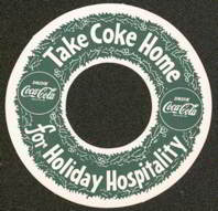 #CC134- Old Coke Bottle Christmas Ring
