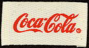 #CC018 - Rectangular Coca Cola Uniform Patch