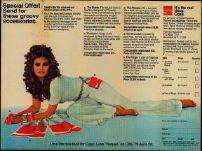 #CC103 - Coca Cola Raquel Welch brochure - first ad for new logo