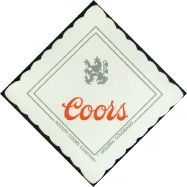 #SP019 - Group of 8 Adolph Coors Company Paper Coasters