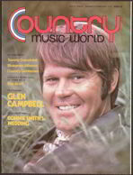 #MUSIC021  - Jan/Feb 1973 Issue of Country World Magazine