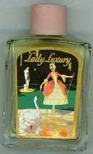 #CS102 - Full Lady Luxury Perfume Bottle