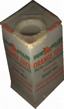#DA019 - Old Flat Top Minute Maid Orange Juice Container
