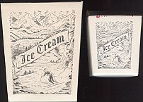 #DA026 - Polar Brand Ice Cream Box Picturing Skiers