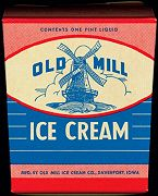 #DA030 - Old Mill Hand Pack Ice Cream Box