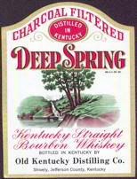 #ZLW077 - Deep Spring Kentucky Whiskey Label
