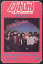 #MUSIC123  - 1981 The Doobie Brothers Radio Promo OTTO Backstage Pass - Q107 - Merriweather Post Pavilion