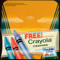 #SOZ025 - Double Cola Bottle Rided Crayola Crayons Giveaway