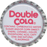 #BC062 - Group of 10 Double Cola Soda Caps