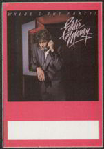 #MUSIC133  - 1983 Eddie Money Where's the Party? Tour OTTO Backstage Pass