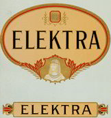 #ZLSC052 - Elektra Cigar Box Label