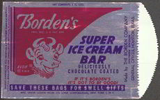 #PC078 - Borden's Elsie Super Ice Cream Bar Wrapper