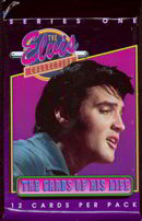 #ZZA094 - Pack of Series One Elvis Cards